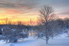 Winter Sunrise photo by Bruce Bugbee