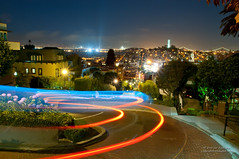 Superman Takes Lombard Street photo by Darvin Atkeson