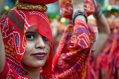 Incredible India | Colorful portrait  |  Beautiful Women photo by galibert olivier