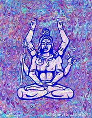 Sri Shiva Ebru photo by Lucid Optic Lab