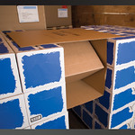 Load Securement Dropdown Corrugated Truck Dunnage