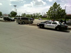 Humane Society and Cop car