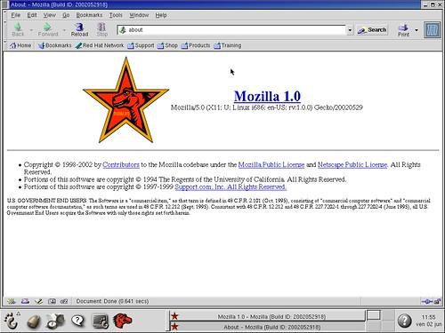 Mozilla 1.0... Souvenirs ;)