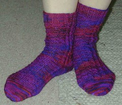 Mountain Color Bearfoot socks