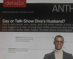 Gay or Talk-Show Diva's Husband