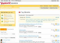 Yahoo My Web