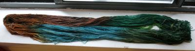 Dyeorama yarn