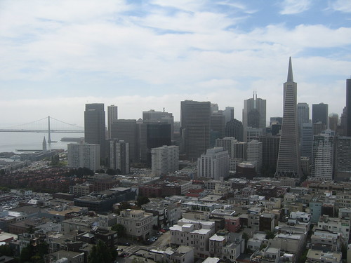 Downtown from Coit Tower
