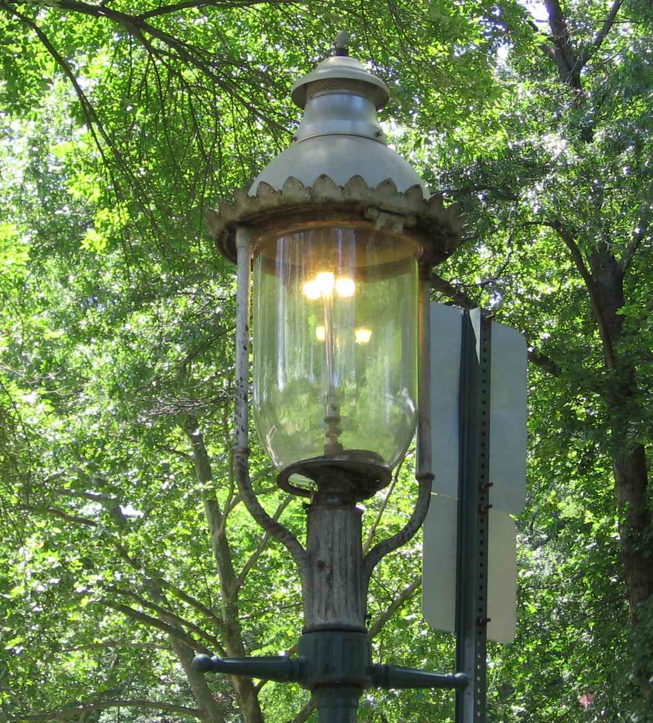 South Orange gaslight