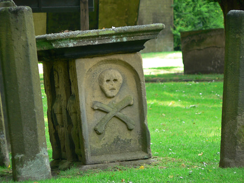 Plague tomb in Eyam