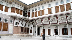 Harem du palais Topkapi - cour des favorites