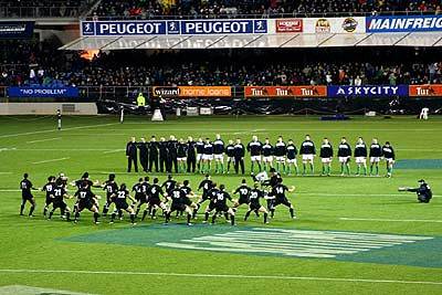 New Zealand All Blacks Pre Game Haka