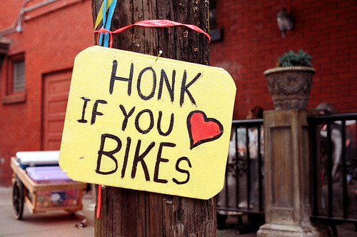 Honk if you like bikes