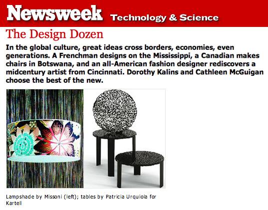 Newsweek Design Dozen