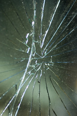 Cracked Rear Window