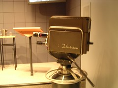 One of the cameras used in the Nixon/Kennedy debates