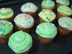 Vanilla Cupcakes - by my Sister
