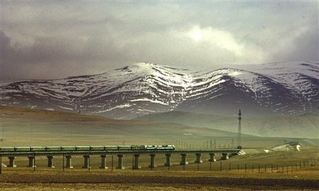 CHINA TIBET RAILWAY 001