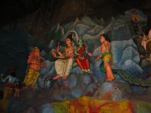 Picture 206 Shiva, Parvati, Kartik and Ganesha
