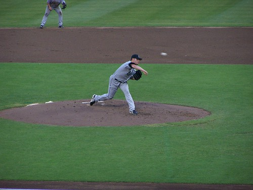 Nolasco pitches in the second inning