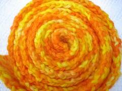 Daffodilly Scarf Finshed 1