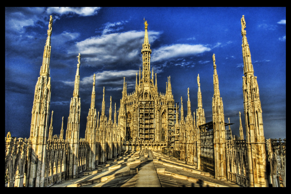 The Duomo, the Heaven Side