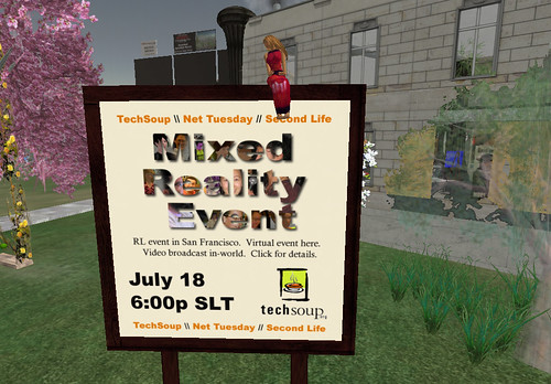 TechSoup Mixed Reality Event Billboard