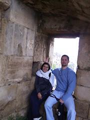 مع فهد داخل القلعة