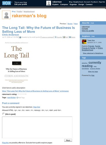 [Vox - Library Book - Long Tail]