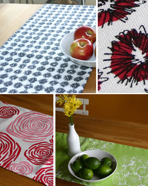 Henry Road: New Table Runners!