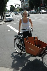 Bakfiets on Broadway