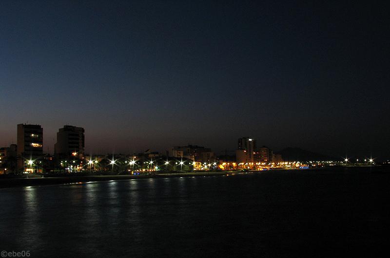 Anochece en Vinaròs