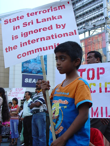 State terrorism in Sri Lanka is ignored by the international community