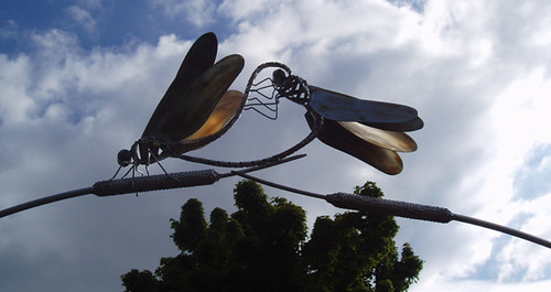 dragonflysculpture