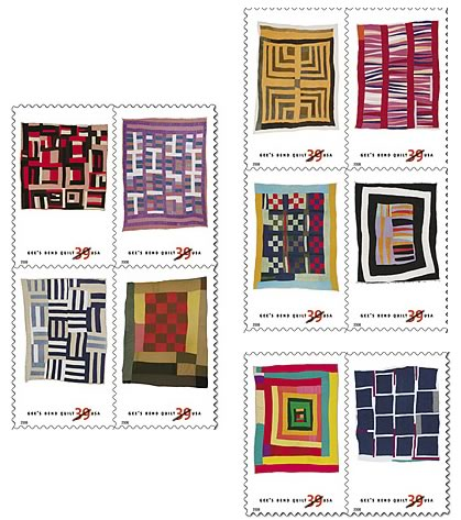 Stamps: Gee's Bend Quilts