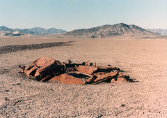 Dead Car - Silver Dry Lake