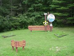 Entrance to Soshen Scout Reservation