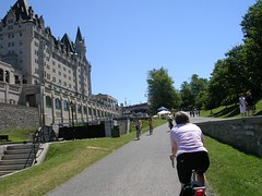 Chateau Laurier and locks