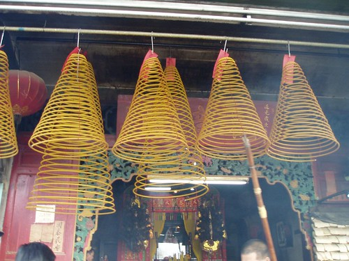 Huge Incense being hanged