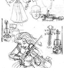 violin studies
