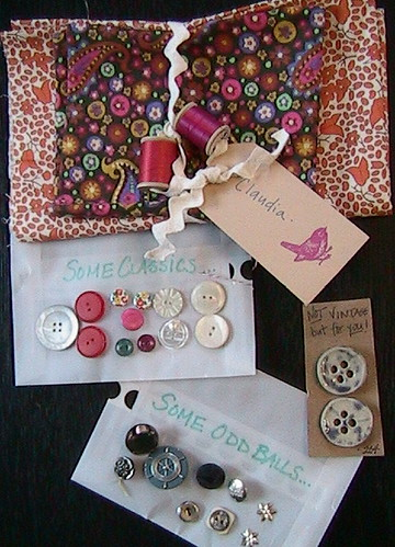 Vintage Button Swap