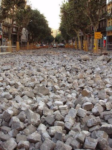 Obres a Barcelona