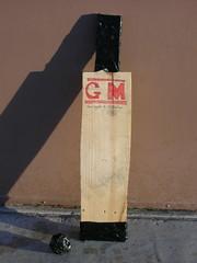 Home made cricket bat