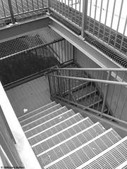 Stairwell at UNL