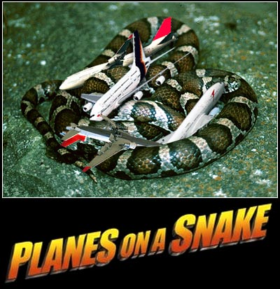 Planes on a Snake