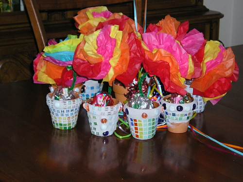 flower pot goody bags