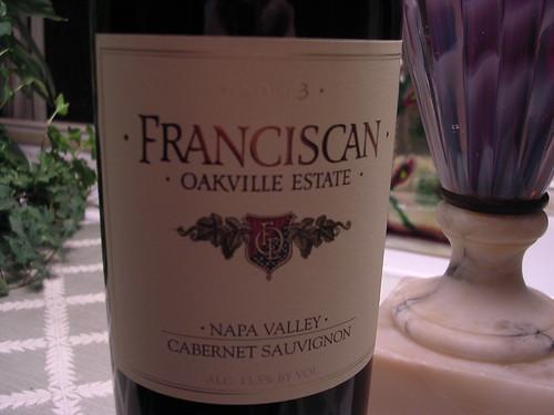 Franciscan Cabernet Sauvignon Napa Valley 2003