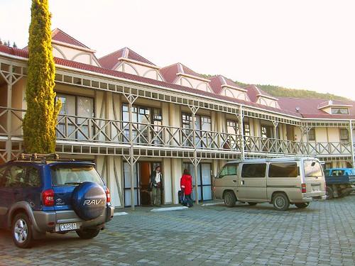 在皇后鎮住的旅館