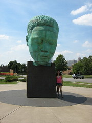 charlie parker's giant memorial head