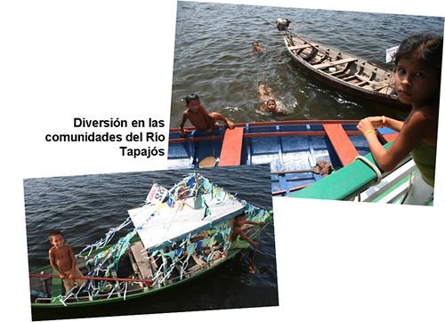 Diversión en el Río Tapajós